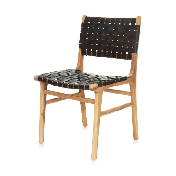 Cool Olivia Dining Chair Woven Black Theyellowbook Wood Chair Design Ideas Theyellowbookinfo