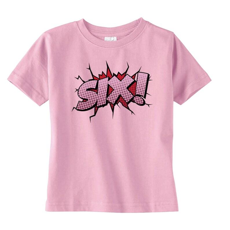 a9ca6b55b Girls Superhero Birthday Shirt Girls Birthday Gift Girls | Etsy