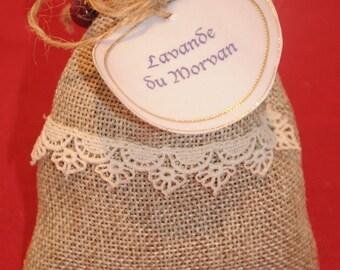 "Small bag of lavender provenance ""Le Morvan"""