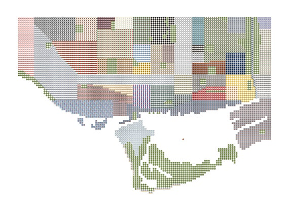 Emoji Map of Toronto