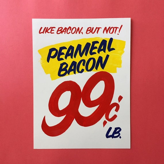 ART PRINT: Peameal bacon