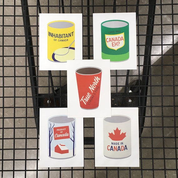 Processed Canada postcards
