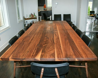 Large Dining Table Etsy