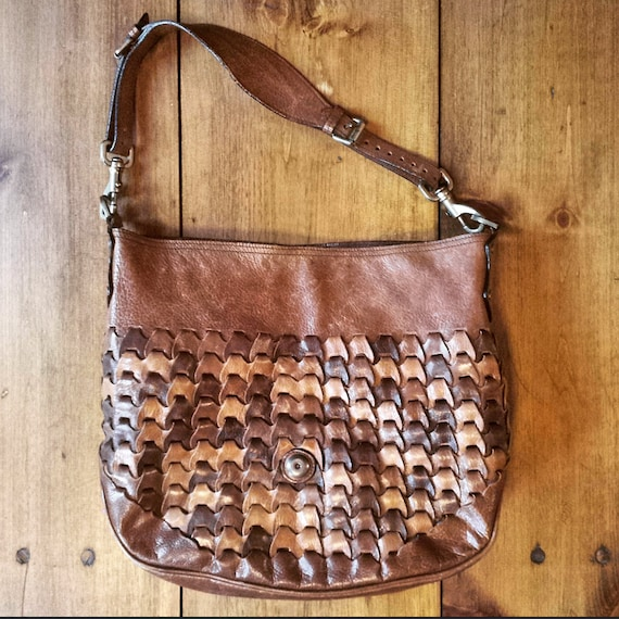 5222747150 ... discount code for 1990s mulberry jemma rio woven leather shoulder etsy  9c81d 77979