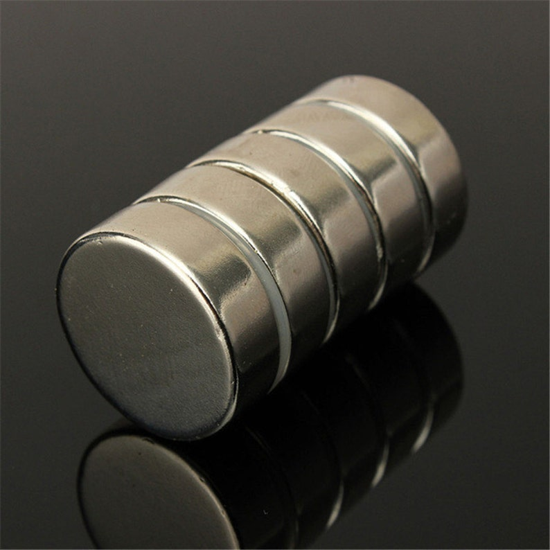 5pcs Super Strong Round Magnets 30mm x 2mm Disc Rare Earth Neo Neodymium N52