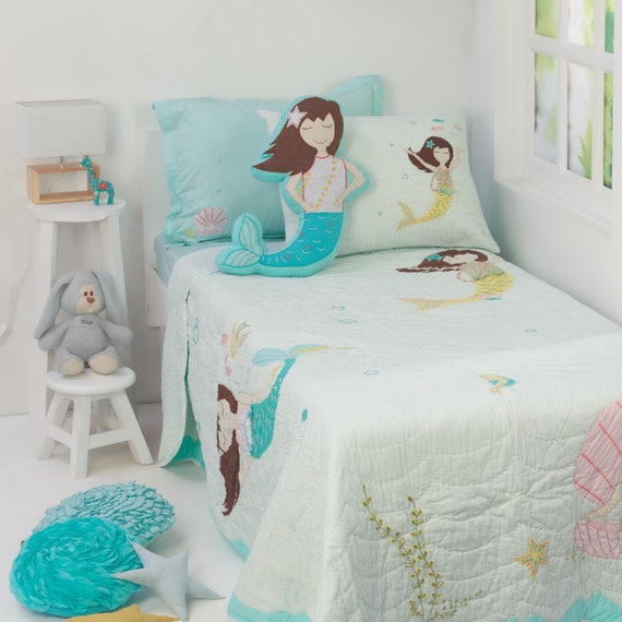 Magical Mermaids Kids' Bedding Set Kid Room Decor