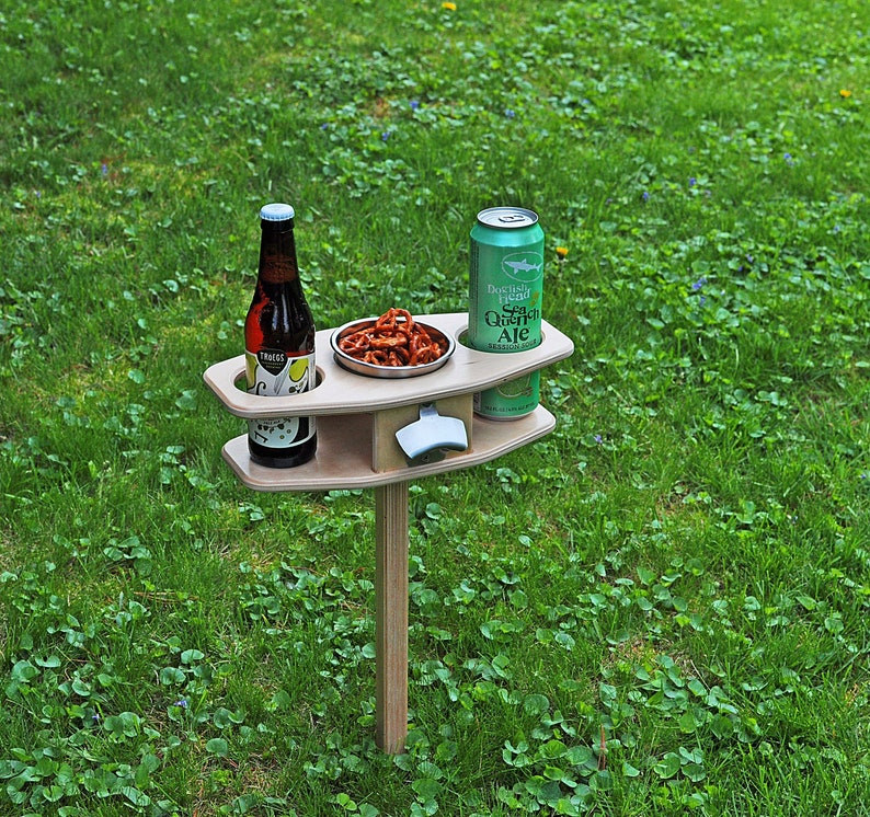 Outdoor Beer Table/ Collapsible Beer Table/ Beer Lover image 0