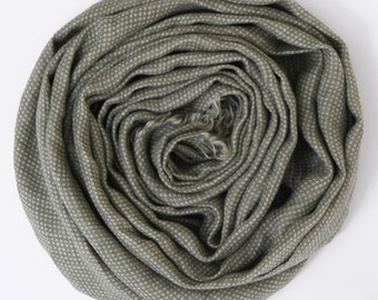 Gray Linen Scarf , Womans scarves, Mens Scarf / Warm Winter Womans Scarves / Linen Scarf For Him / Scarves For Men
