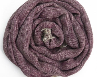 Red Scarf - Made From Natural Linen, Womans scarves, Mens Scarf / Warm Winter Womans Scarves / Linen Scarf For Him / Scarves For Men /