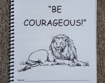 Teen/Adult Regional Convention 2018 Be Courageous JW Notebook