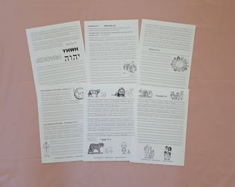 SPANISH 1Handwriting Scriptures from New World Translation for JW Children