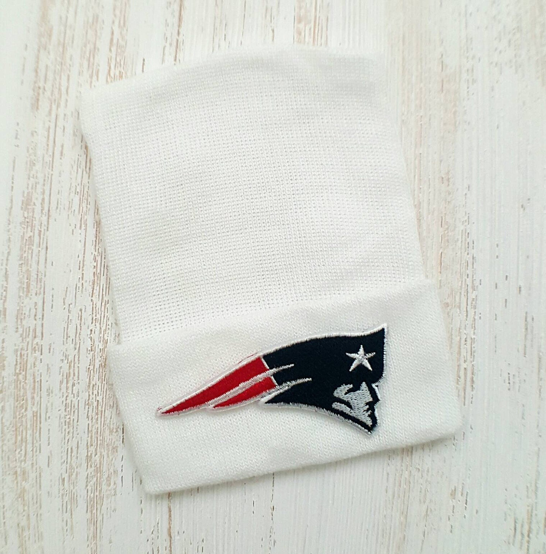 61038ff1 Newborn hospital hat- New England Patriots, baby boy or girl, newborn  hospital hat, Patriots baby hat, newborn hat, Patriots baby