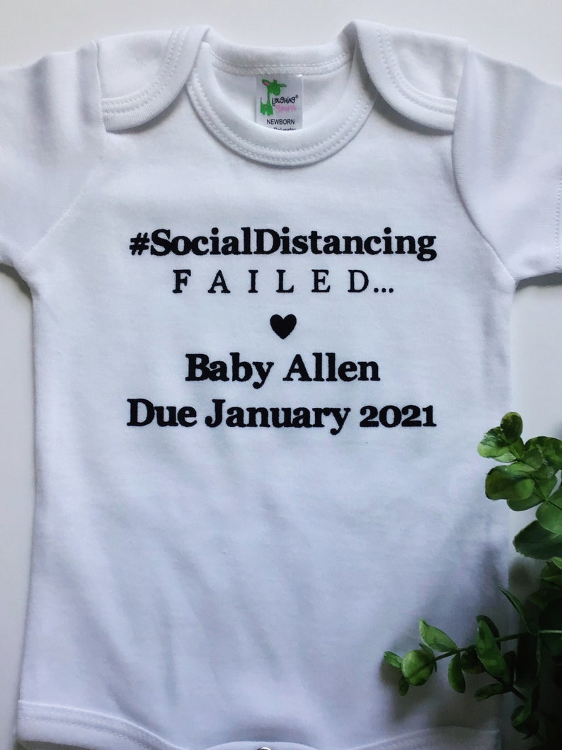 baby reveal social distancing Pregnancy announcement Quarantine baby funny baby announcement covid pregnancy baby announcement