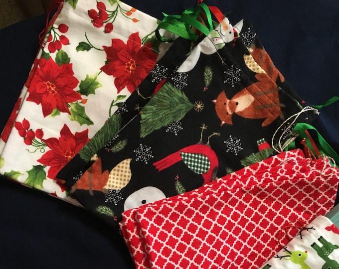 Fabric Gift Bags - RobinsJoyCreations