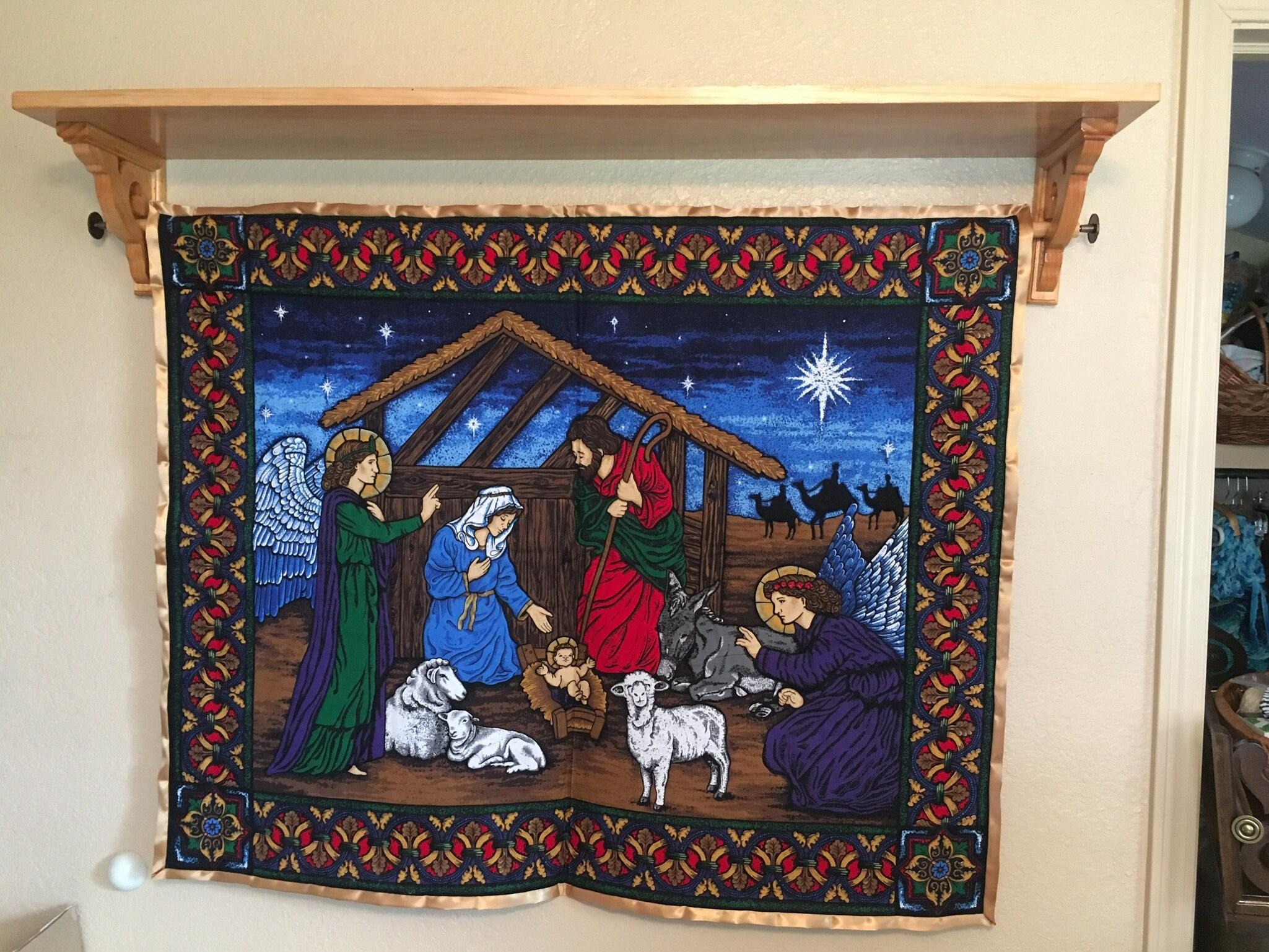 Custom Quilt/Tapestry/Banner Display Shelf