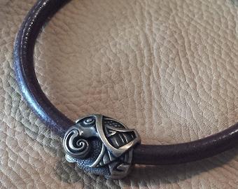 Celtic Raven Totem Bracelet