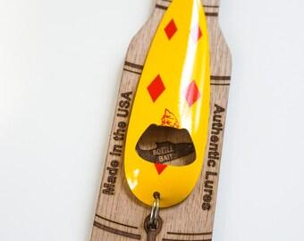 Fishing Bottle Opener