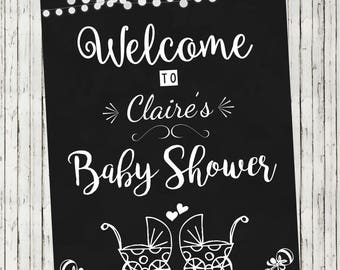 Baby Shower | Welcome Sign | Baby Shower Decoration | Party Decor | Personalised Sign | Baby | Printed OR DIY Printable