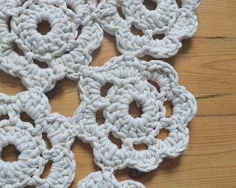 Small doily rug - Boho