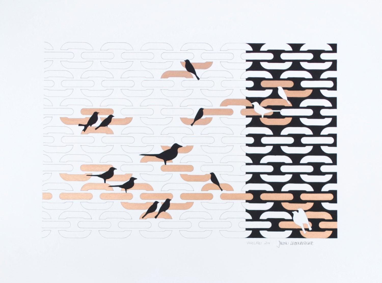 papier de type pochoir art proscrit 42 x 56 cm etsy. Black Bedroom Furniture Sets. Home Design Ideas