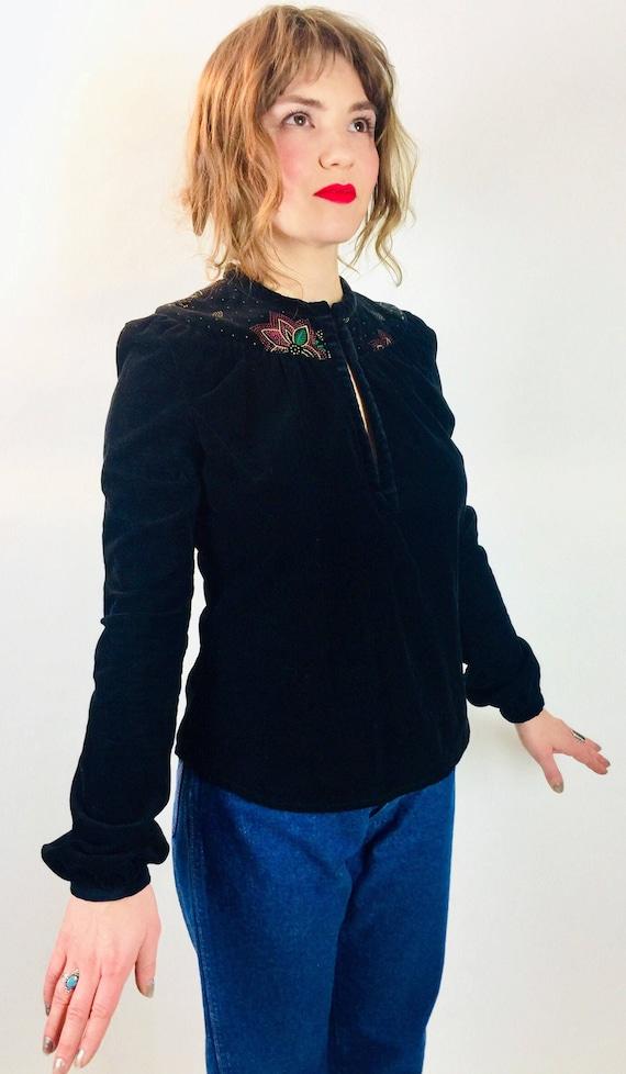 Vintage 90's designer retro Stevie Nicks boho fitt