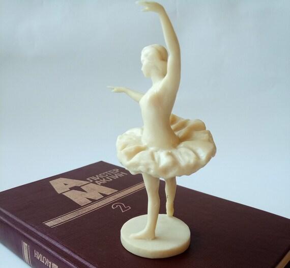Figurine Of Ballerina Resin Sculpture Female Ballet Dancer Etsy