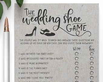 Grey Wedding Shoe Bridal Shower Game. Wedding Shoe Game . Bridal Shower Game,Virtual Bridal Shower
