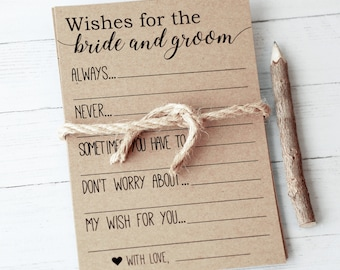 Advice For The Bride Etsy