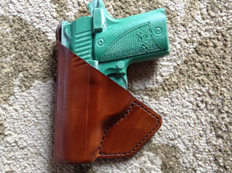 Kimber Micro 9 Front Pocket Carry Leather Holster