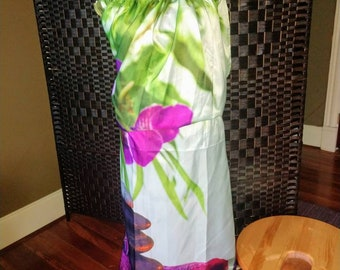 Hand Crafted Yoni Steam Kit: 1 v steam Stool, 1 Steaming Gowns, and 1 lb bag of Herbs. Vaginal Health Womb Healing Seat (TM)