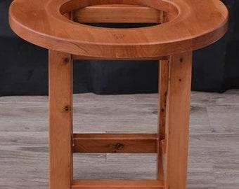 Pre-order Cedar Wood Yoni Steaming Stool. Vaginal Health Womb Healing Seat