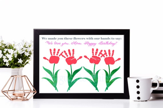 For Mom DIY Birthday Gift From Kids INSTANT Download