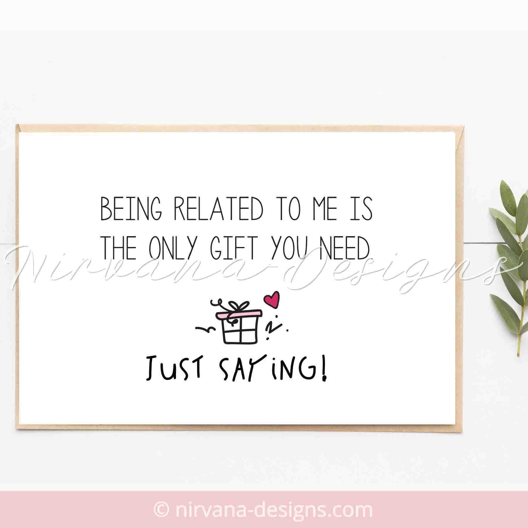 Funny Happy Birthday Card For Him Mom Greeting