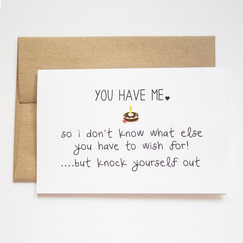 Funny Happy Birthday Cards For Boyfriend Him