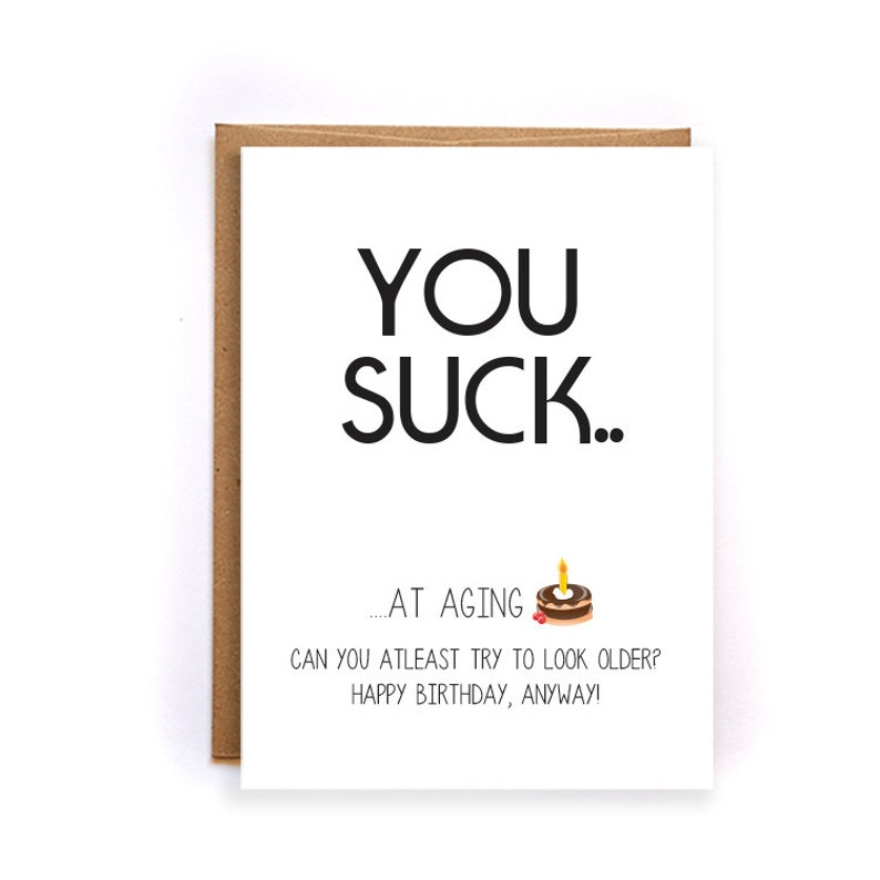 Funny Happy Birthday Cards For Daddy Sarcastic