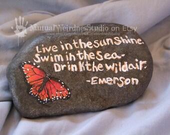 Emerson Quote Stone