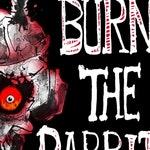 Burn the Rabbit, Signed Paperback