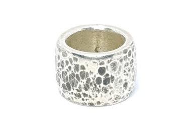 Silver Ring beaten