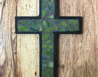 Glass Mosaic Cross