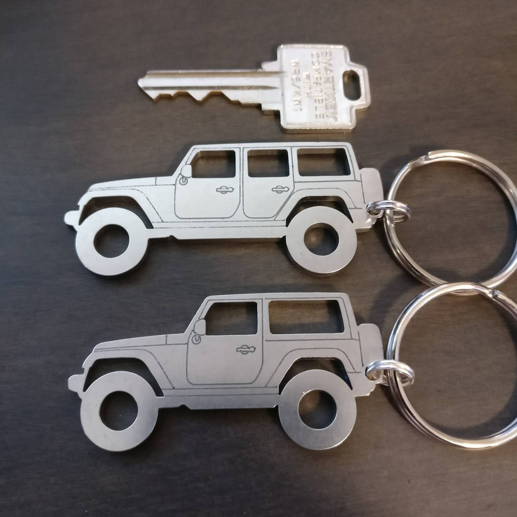 Jeep Jk Jku 2door 4door Wrangler Unlimited Keychains Etsy Outline 50