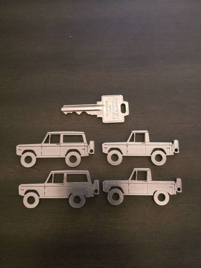 Ford Early Bronco 1966  1977 Keychains image 0