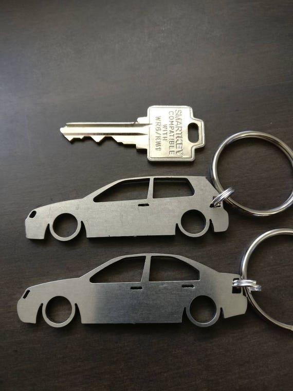 Volkswagen Golf Jetta GTI GLI Laser Cut Keychain