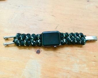 Trilobite tissage survie Wear Violet /& Blanc Fait à la main Paracord Bracelet