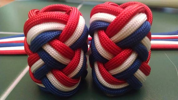 Eagle Woggle Red White And Blue 550 Paracord Long Turks Etsy