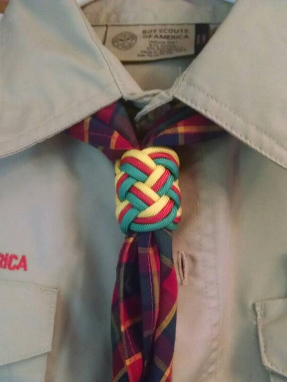 Webelos Woggle Neckerchief Slide For Cub Or Boy Scout Etsy