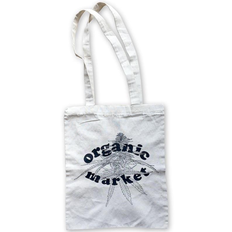 Ecobag Organic Market 100% recycled fabric Silkscreen image 0