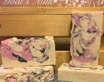 Goat milk soap. Hand crafted in the Valley