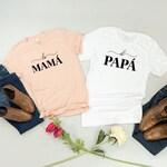 Mama shirt, Papa shirt, Spanish parents, latina mom, Mamacita Shirt, Papacito Shirt, Couples Shirts, mom shirt, dad shirt, matching shirts