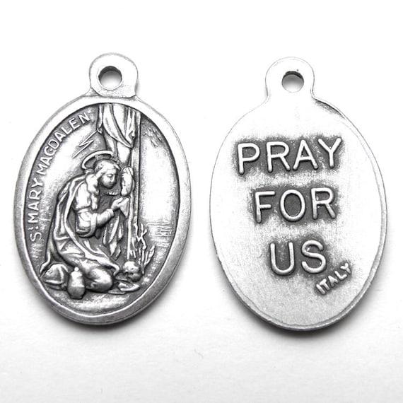 fd083399de3 St. Mary Magdalene Holy Medal Catholic Gift Patron Saint of | Etsy