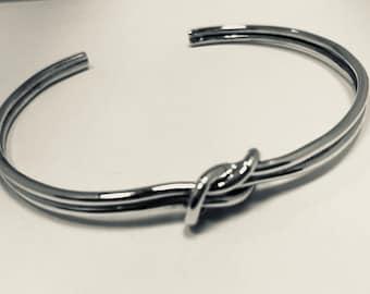Silver Knot Bracelet 925